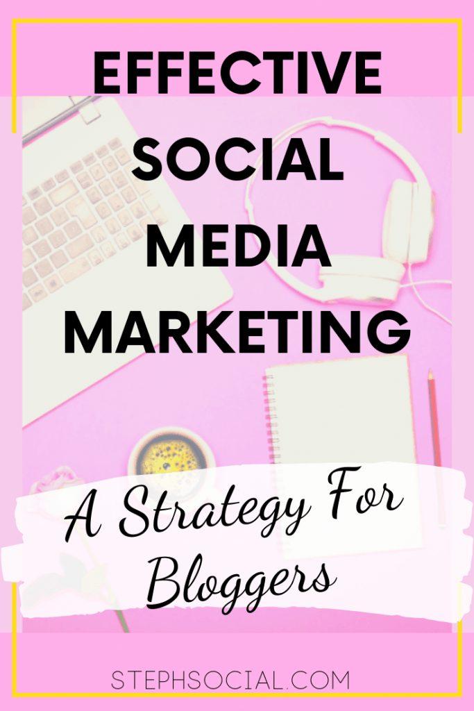 social media marketing for bloggers