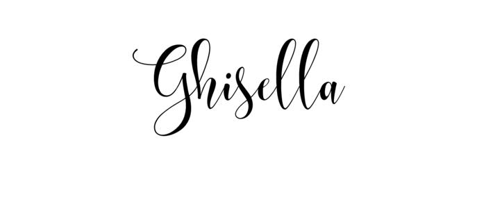 Ghisella feminine font