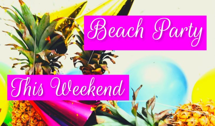 beach party fonts