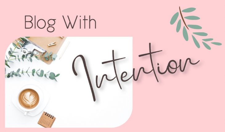 blog with intention
