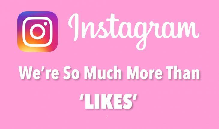 instagram took likes away