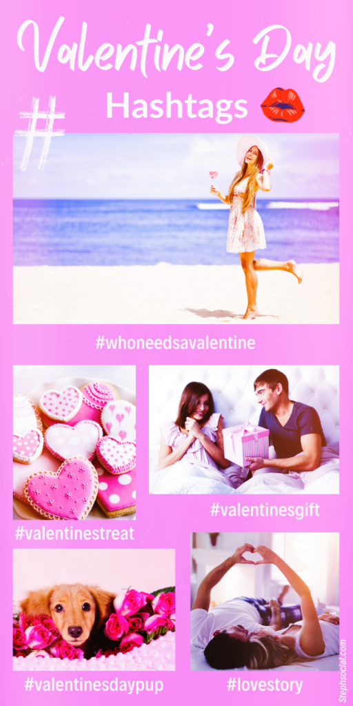 cute valentine's day hashtags