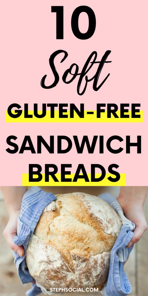 gluten free sandwich breads pinterest