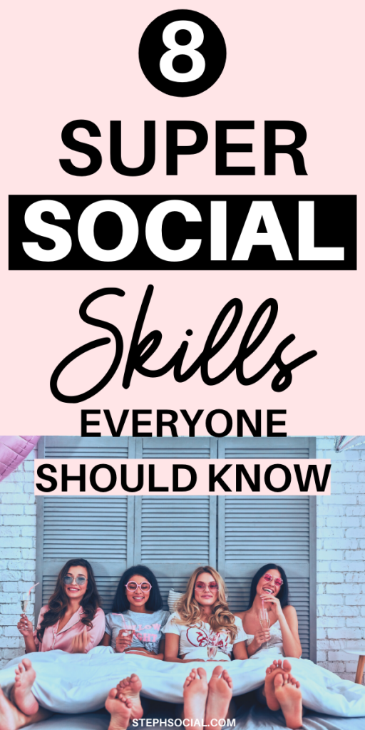 socializing skills to learn
