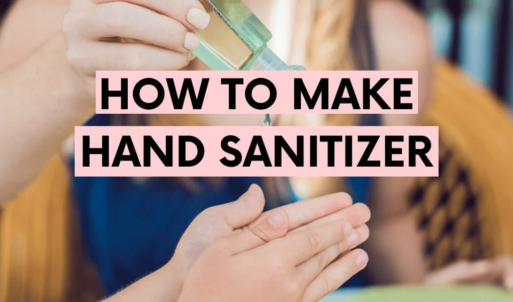how to make hand sanitizer