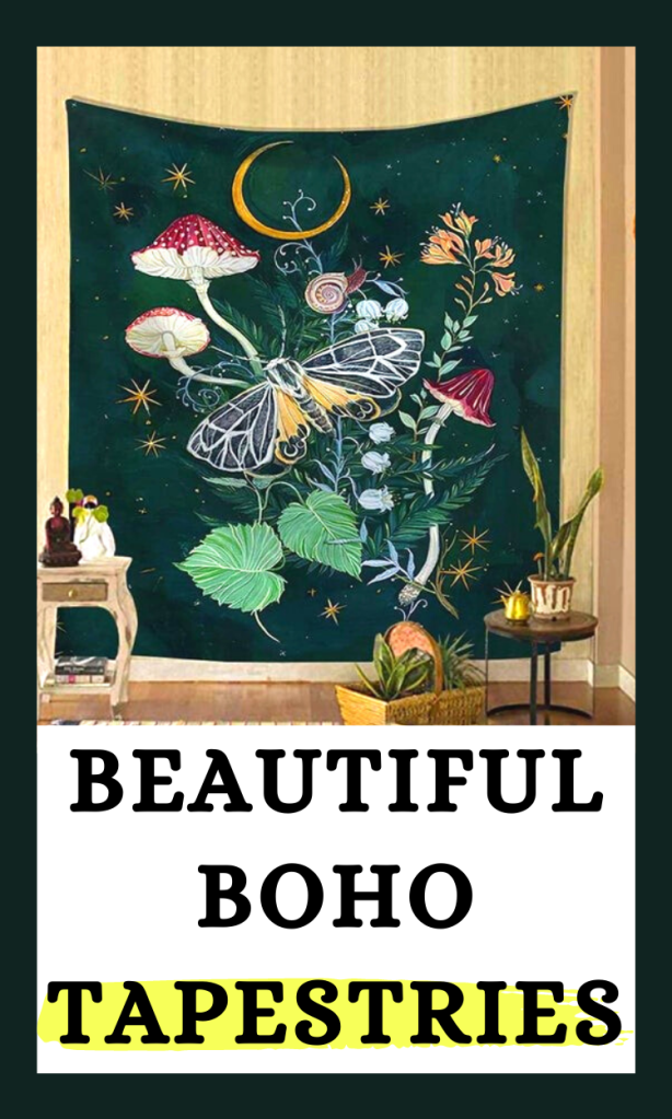 Beautiful boho tapestries for your home decor!